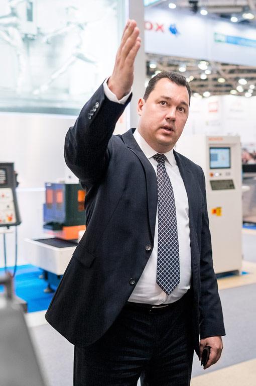 Сергей Костюченко — коммерческий директор производственно-коммерческой компании «КОСКО»