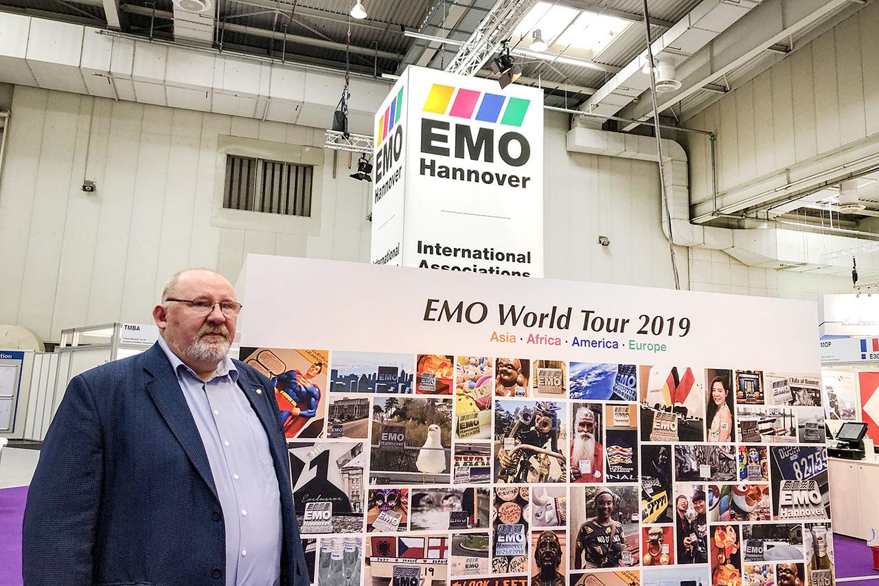 Генеральный директор ГК КОСКО - Матвеев С.В. на международной выставке металлообрабатывающего оборудования EMO-2019 (Ганновер, Германия)